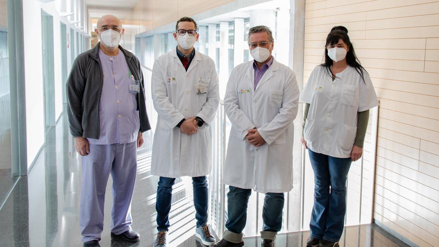 El hospital de Dénia advierte sobre la medicación tras una infección grave por la covid-19