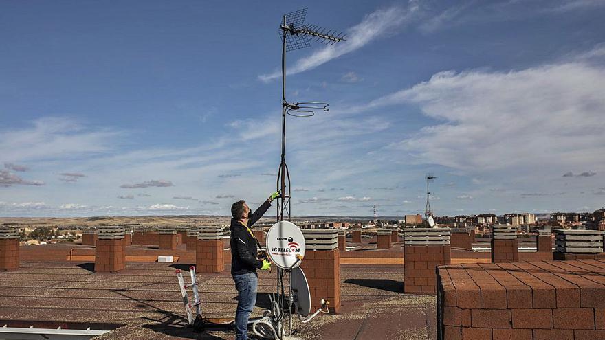 La mayor parte de las comunidades de vecinos en Zamora tiene ya adaptada la antena para la nueva TDT