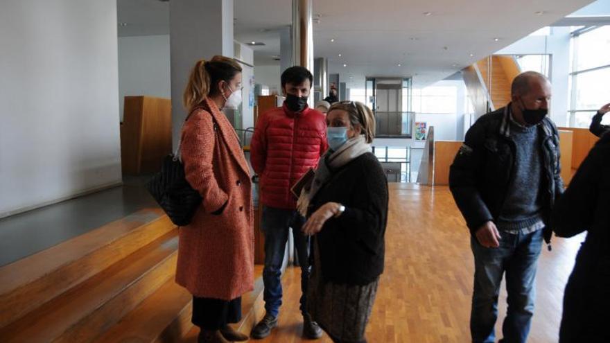 Aurora Prieto se posiciona con el PSOE y apoya a la socialista Sagrario Martínez a la Alcaldía de Cangas