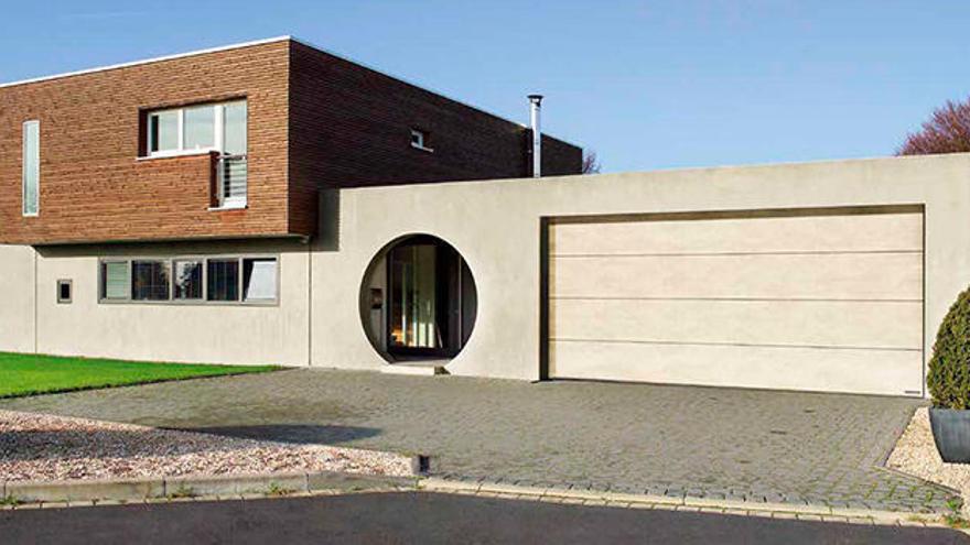 Puertas de garaje, estética y funcionalidad
