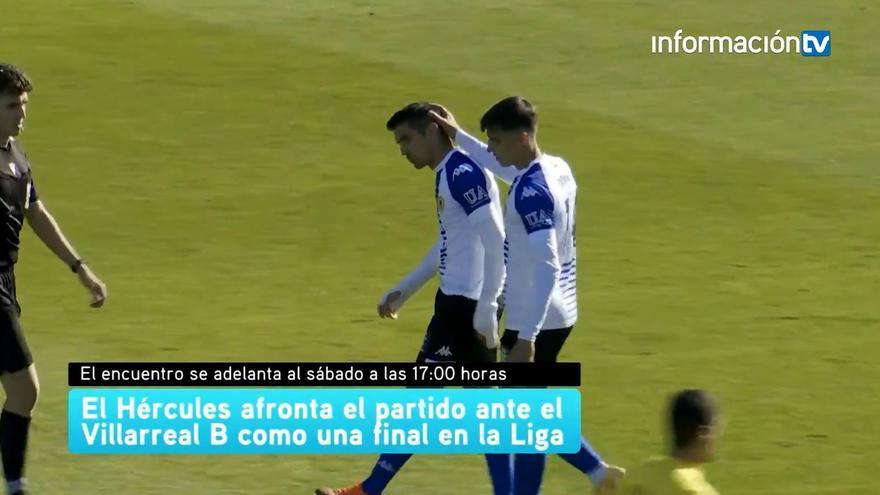 El Hércules afronta el partido ante el Villarreal B como una final en plena Liga