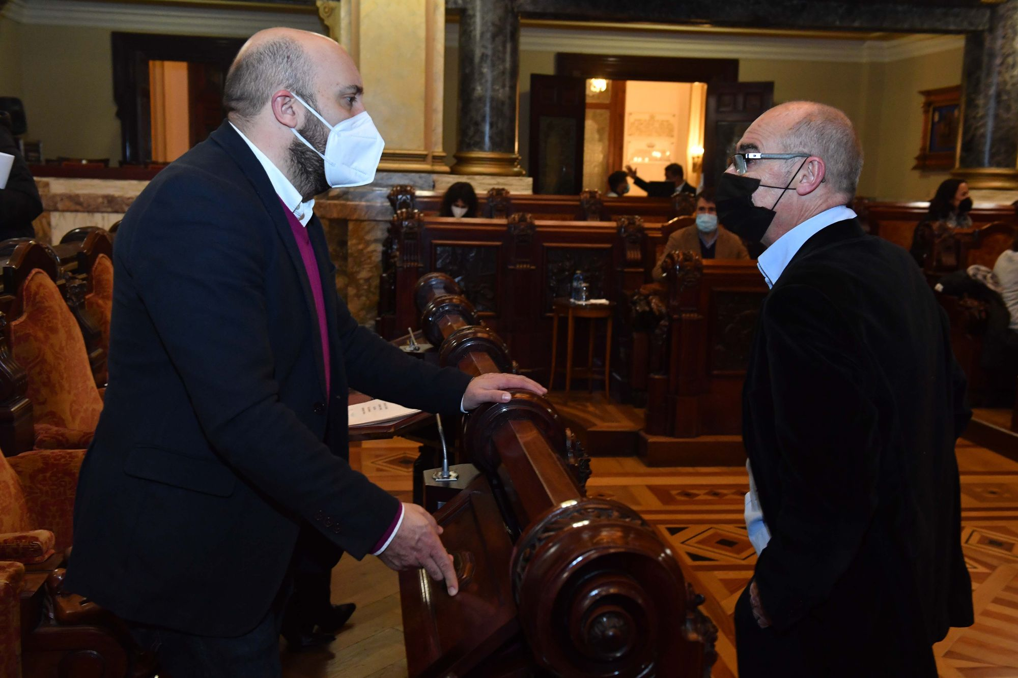Pleno ordinario de marzo de 2021 en A Coruña