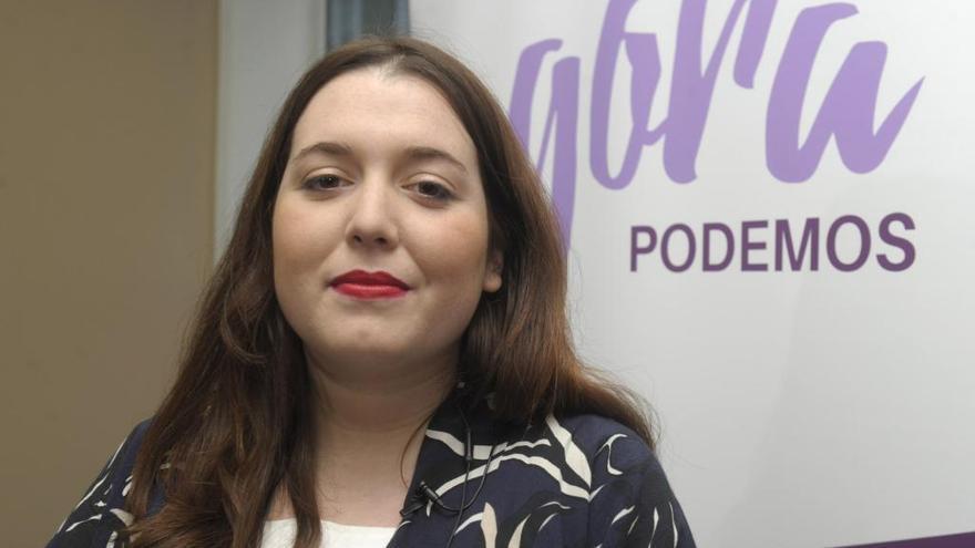 """Ángela Rodríguez: """"Debemos ser útiles ya en las instituciones, no solo quejarnos"""""""