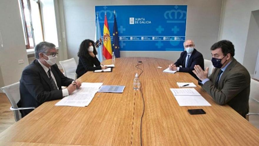 A Xunta e a Confederación de Empresarios de Galicia mellorarán a oferta de FP
