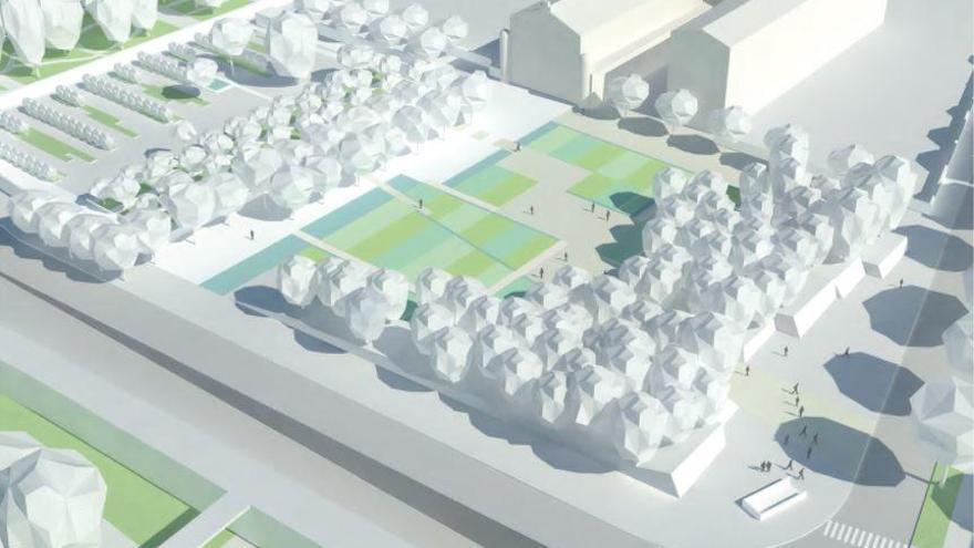 Ribó no descarta huertos urbanos transitorios en la ampliación del Botànic