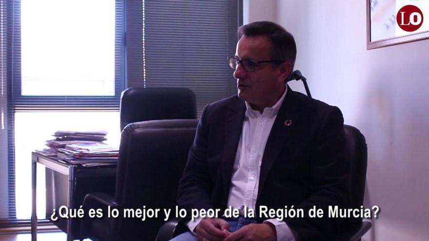 26M: Conoce a Diego Conesa (PSOE) en un minuto