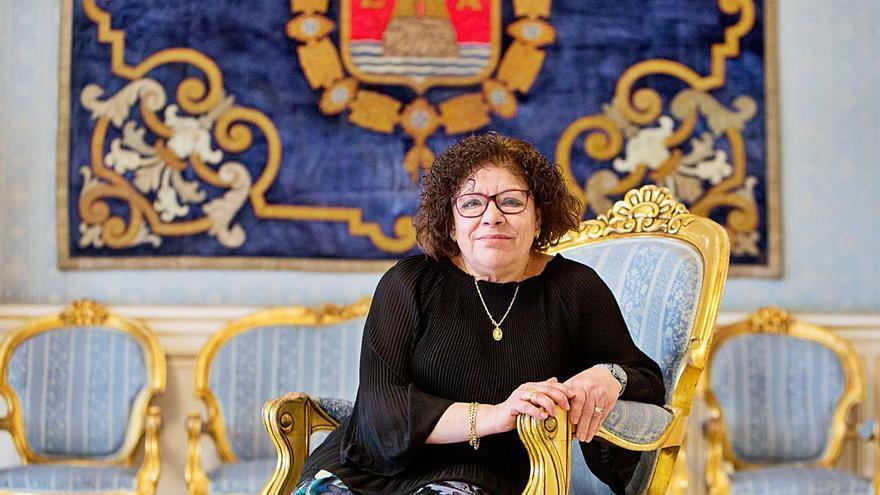 María del Socorro Pizarro: «El Ayuntamiento es mi segunda casa después de 43 años trabajando aquí»