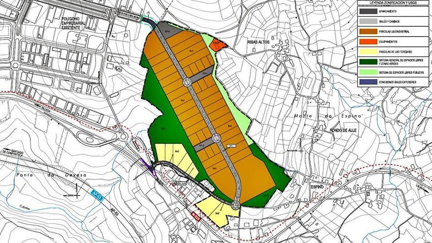 La cuarta fase de Lalín 2000 se estructurará en parcelas con un tamaño mínimo de 500 m2