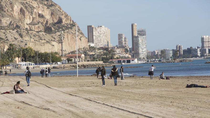 El tiempo en Alicante: marzo fue extraordinariamente lluvioso y el que tuvo menos horas de sol desde 1962