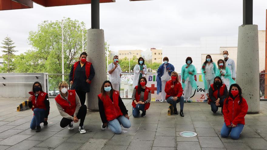 Cruz Roja Juventud de Zamora y el Virgen de la Concha celebran de forma simbólica el Día de la Infancia Hospitalizada