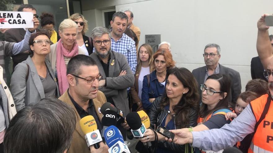 L'alcalde de Castelló declara al jutjat que en el referèndum va ser «un ciutadà més»