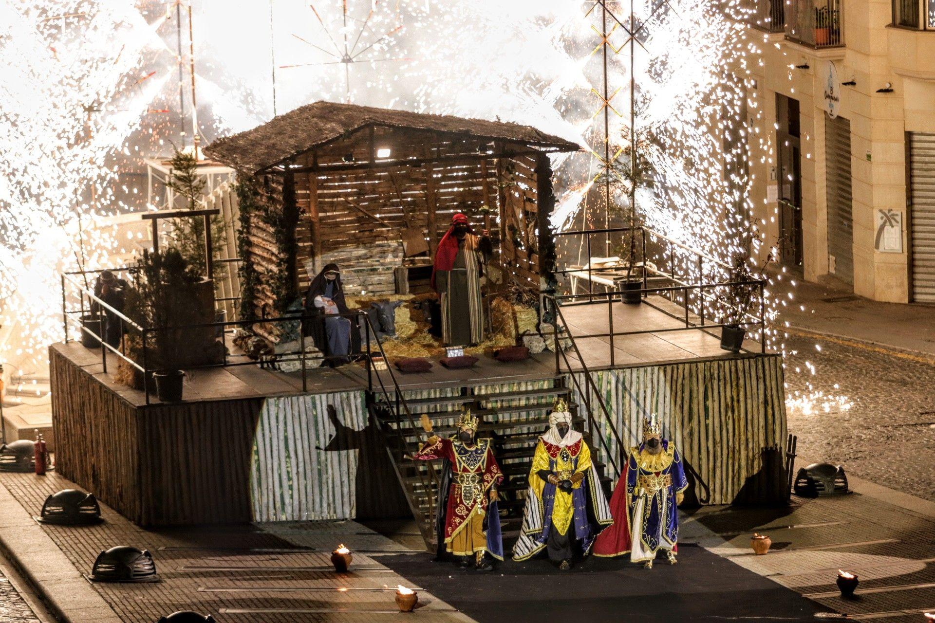 Adoración a los Reyes Magos en Alcoy 2021