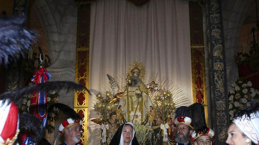 Villena muestra su fervor festero a La Morenica