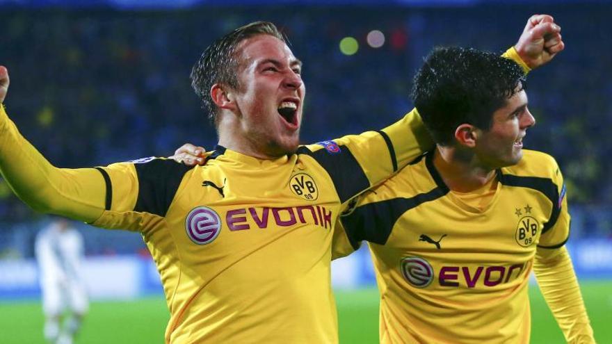 El Dortmund tumba al Legia con récord de goles