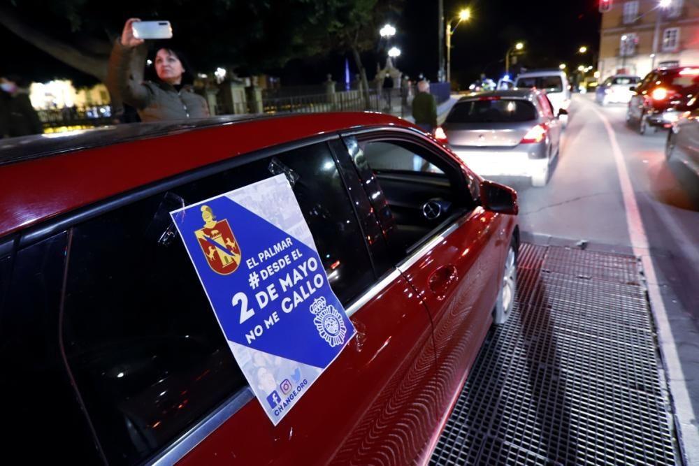 Protesta contra los robos en El Palmar