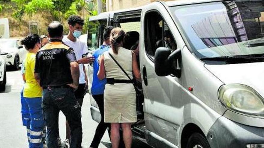 Joves menors no acompanyats procedents del Marroc a Ceuta   EUROPA PRESS