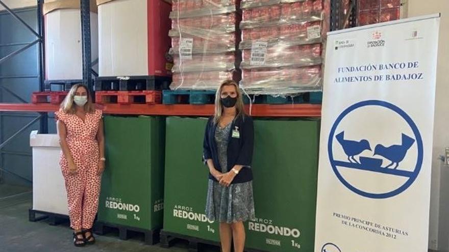 Mercadona entrega 4.500 kilos de productos de primera necesidad al Banco de Alimentos de Badajoz