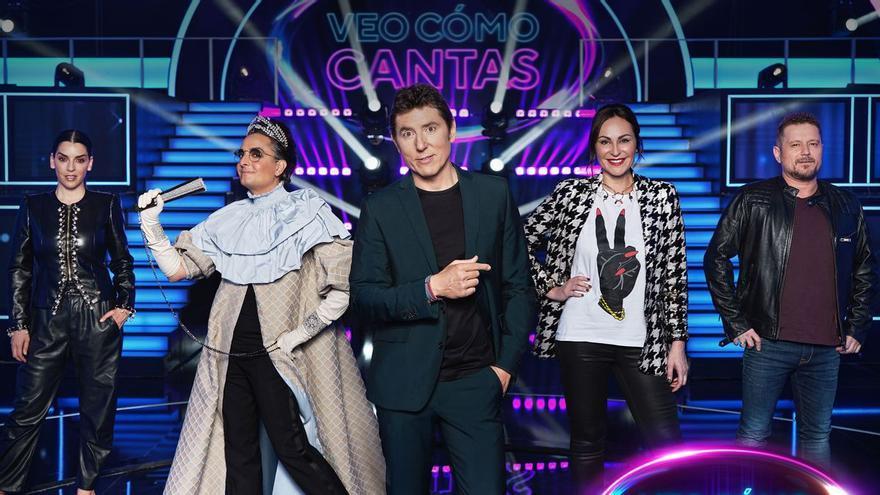 Antena 3 invita a buscar al cantante oculto en 'Veo cómo cantas'