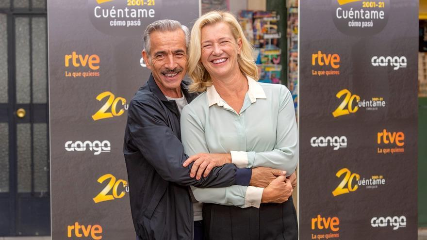 'Cuéntame' celebra los 20 años en antena de los Alcántara