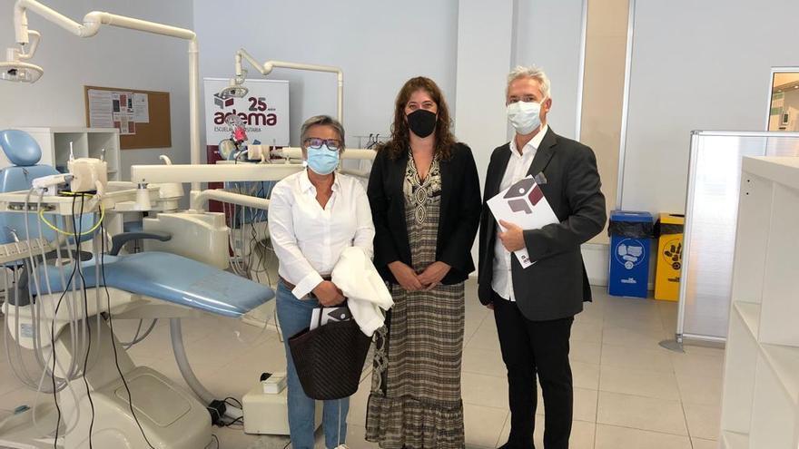 Las familias de la ONG Casal Solidari Gent del Món de Marratxí podrán recibir tratamientos odontológicos y promoción de salud bucodental en la Clínica Universitaria de Odontología ADEMA
