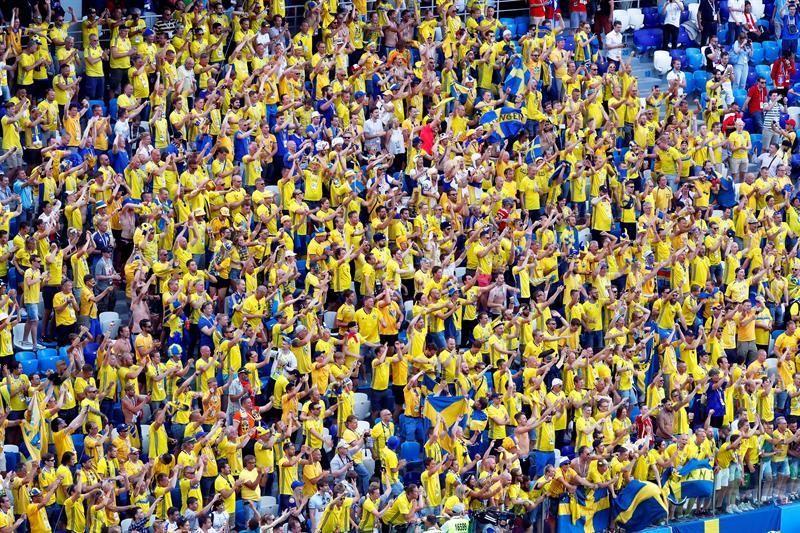 Las mejor imágenes del Suecia-Corea del Sur