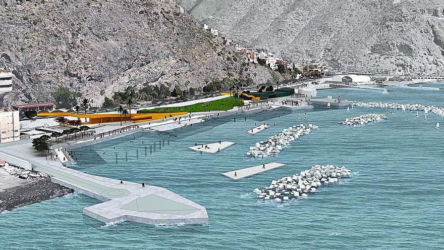 El Estado autoriza la contratación de la obra de la playa de Valleseco