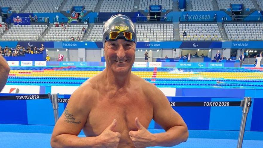 Diploma olímpico para Chano Rodríguez en su despedida de los Juegos de Tokio