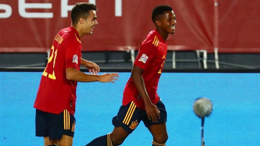 Ansu Fati vuelve a escena con España frente a Suiza