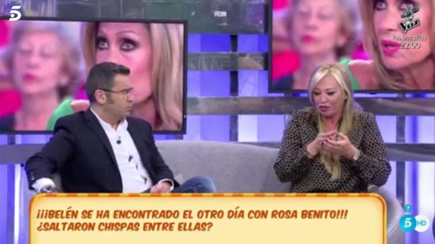 Belén Esteban y Rosa Benito, reencuentro entre lágrimas