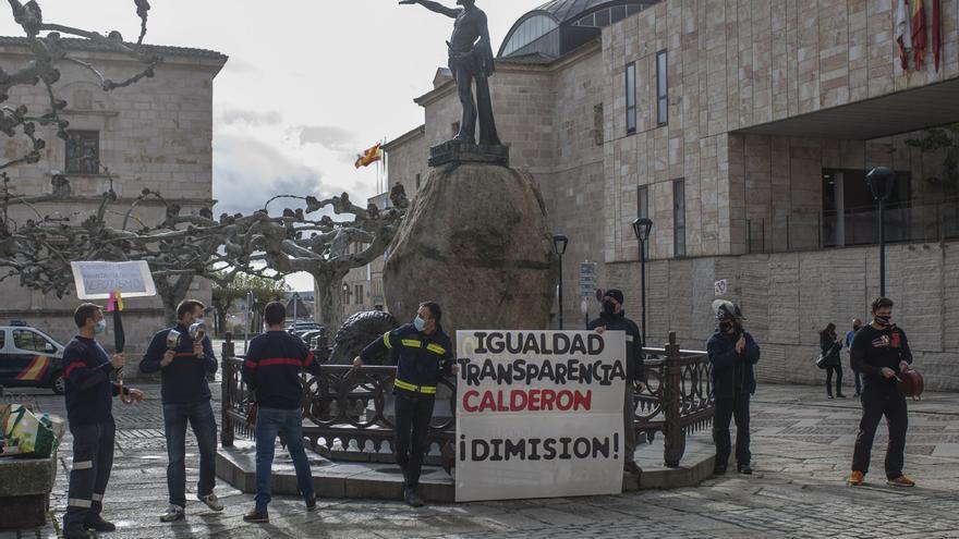 """VÍDEO   Los bomberos """"díscolos"""" del consorcio provincial de Zamora reclaman mejores condiciones"""