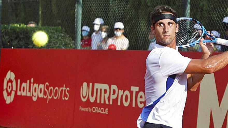 Emoción y buen tenis en la primera jornada de la Liga Mapfre