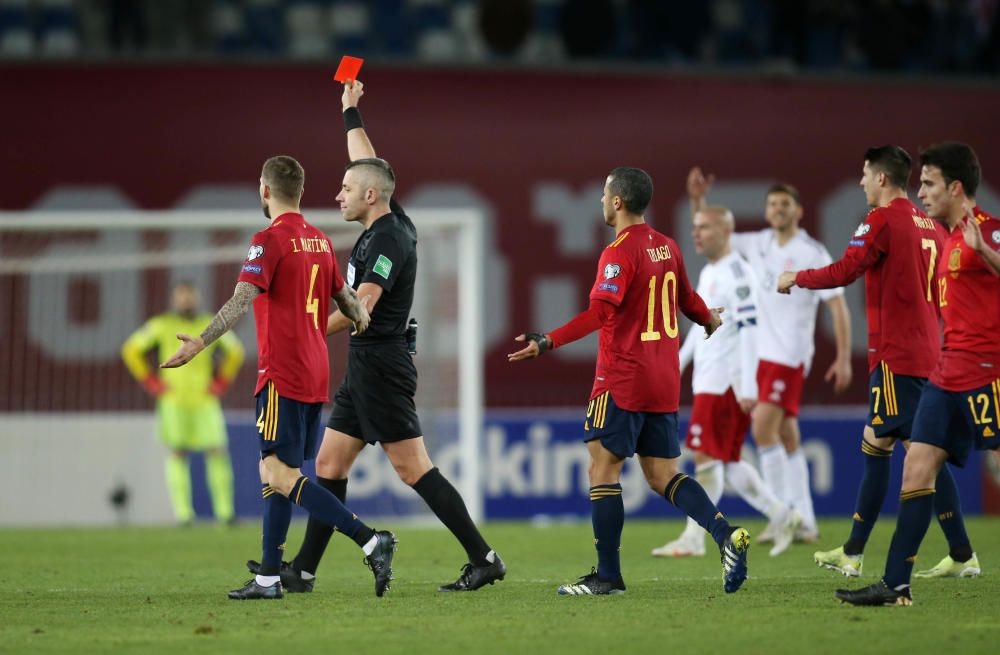 Clasificación para el Mundial: Georgia - España