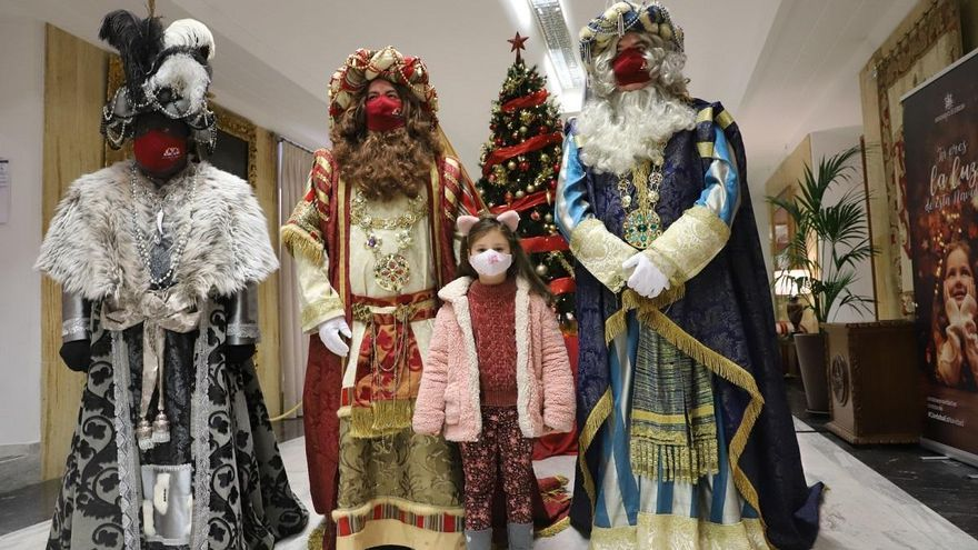 Los Reyes Magos visitarán el casco histórico de Córdoba después de la cabalgata en globo