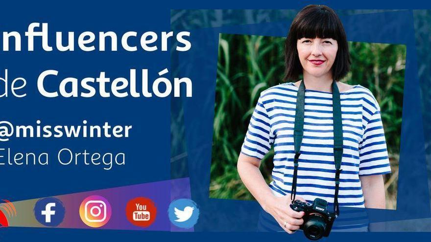 Elena 'misswinter', una pionera en Instagram de Castellón con medio millón de seguidores