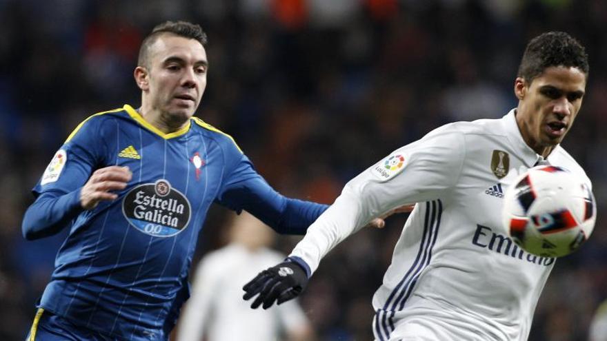 Varane se cae también de la convocatoria del Real Madrid para Balaídos