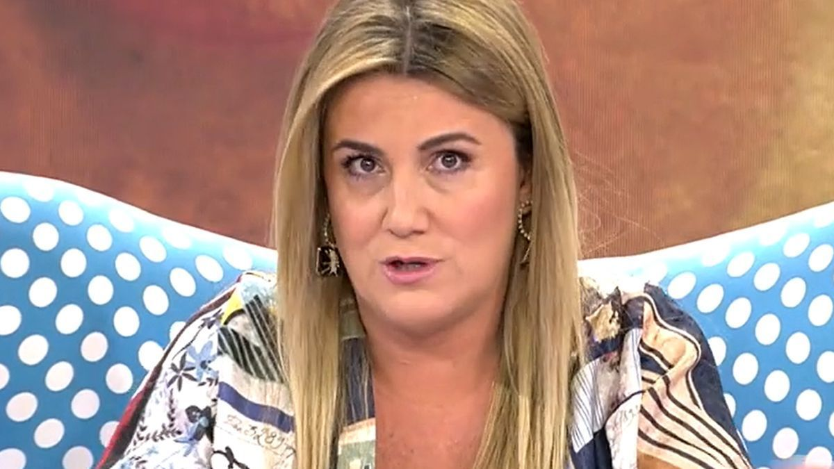 Carlota Corredera, en el plató