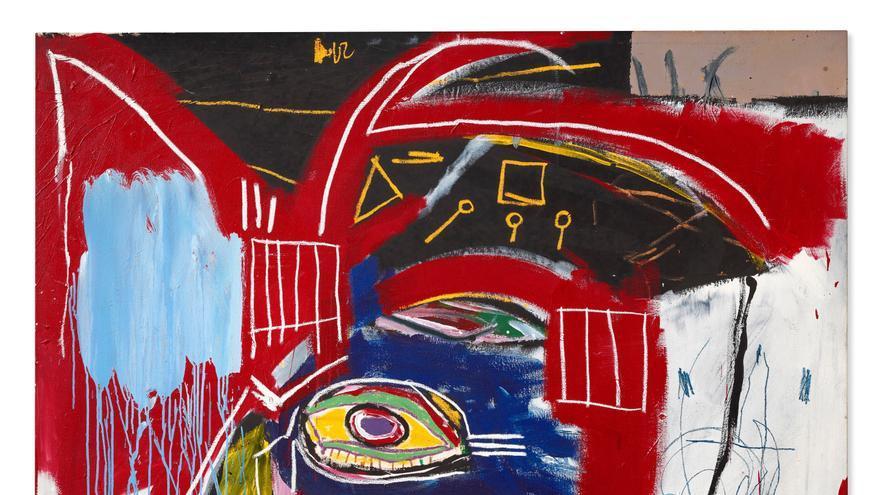 Subastan un cuadro de Basquiat por 93 millones de dólares