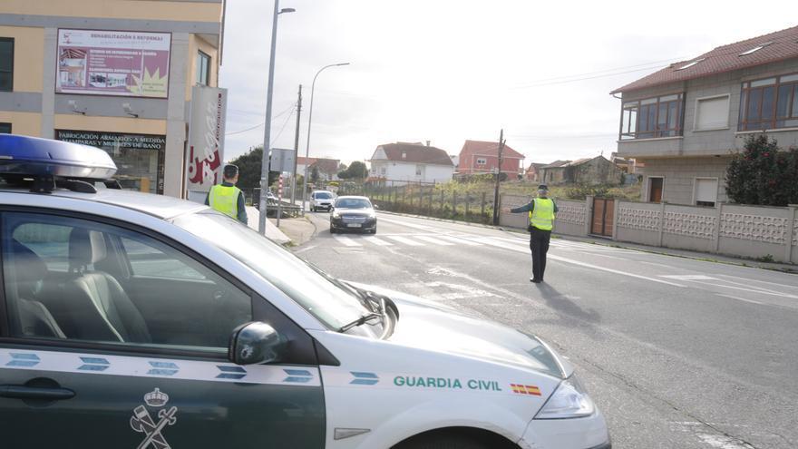 Una persecución por el centro de Moaña alerta a los conductores