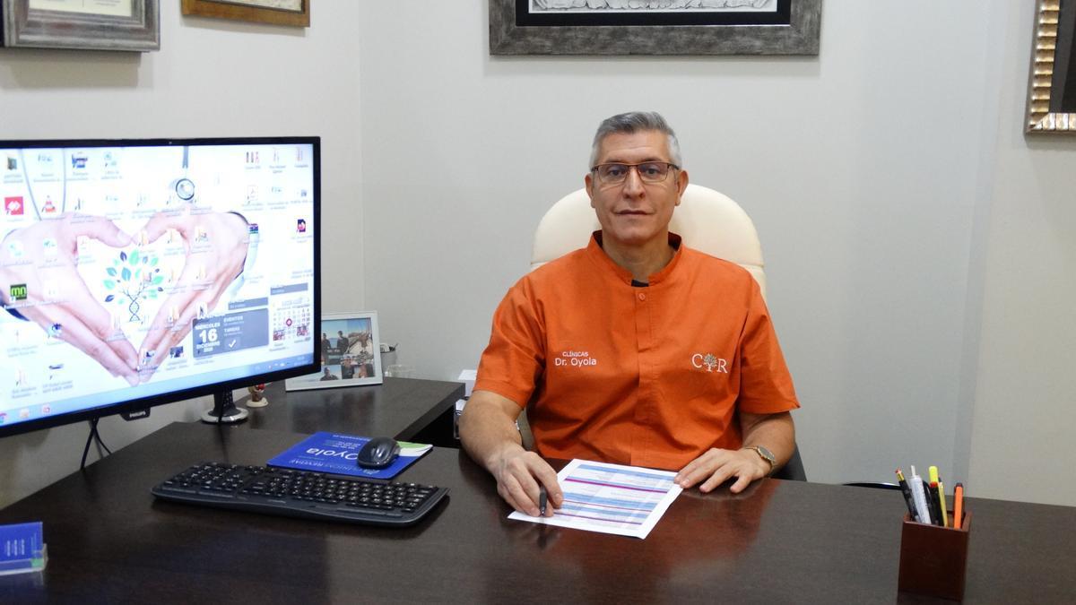 Yelidá Oyola, director médico de Clínicas Revitae.