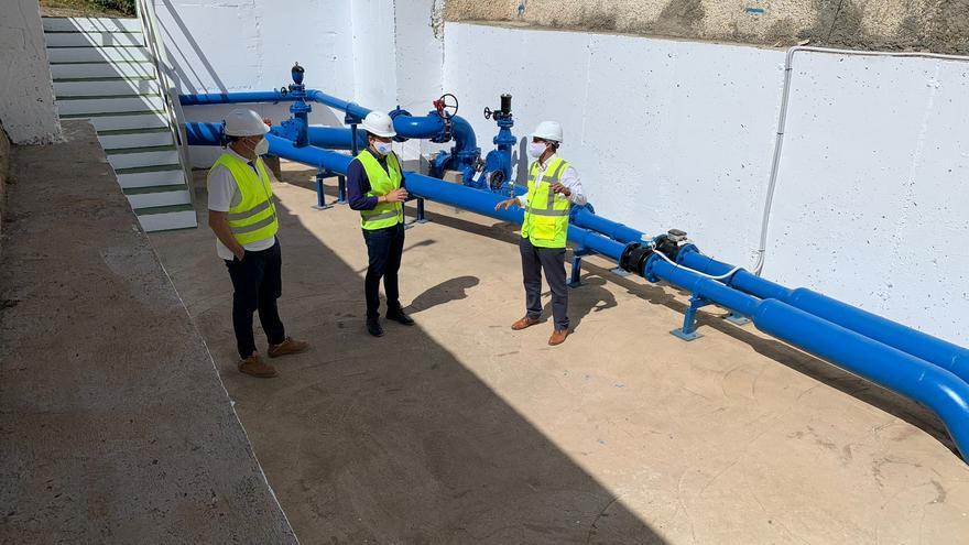 Telde renueva la estación de bombeo que suministra agua desalada a La Herradura