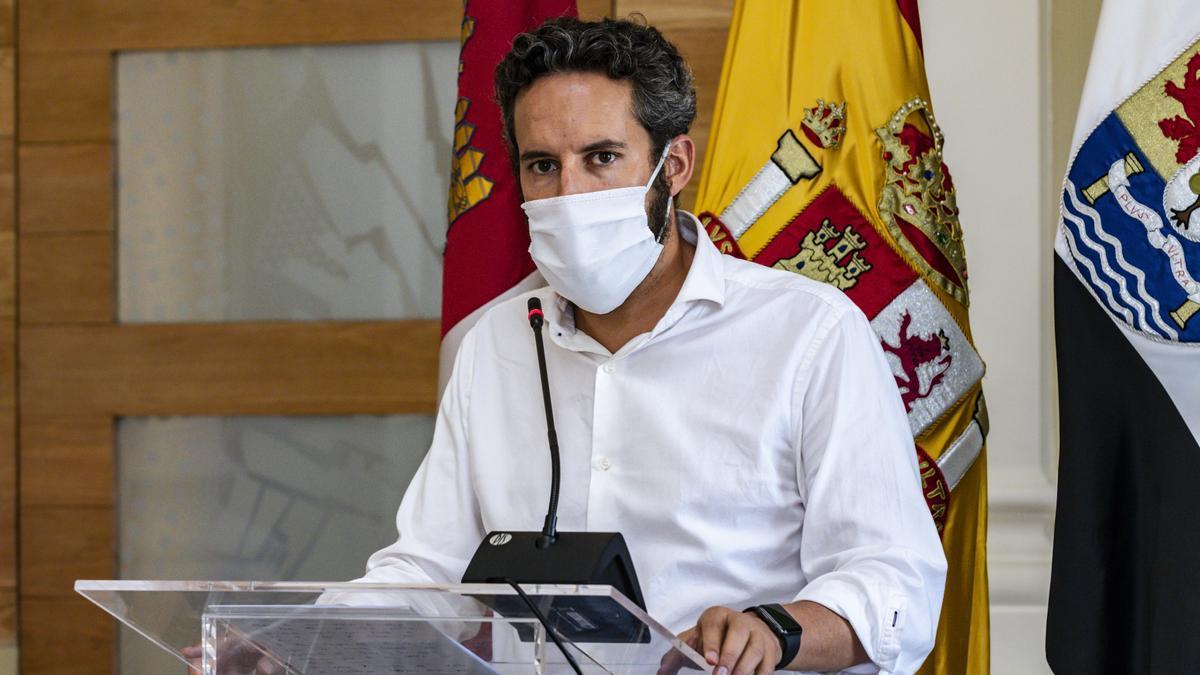 Andrés Licerán, portavoz del equipo de Gobierno.
