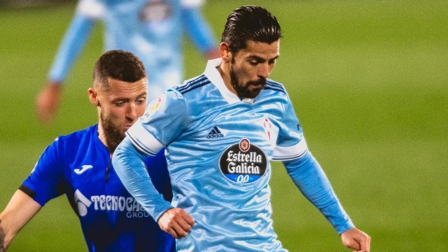 El Celta sufre como siempre en Getafe pero trabaja como nunca para arrancar un valioso empate