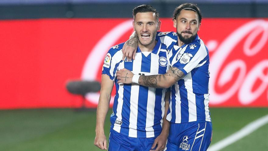 Lucas, fuera de la lista del Alavés para A Coruña