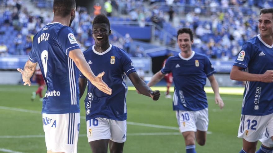 El Oviedo, el rey del área: ¿por qué el equipo azul es contundente en los metros finales?