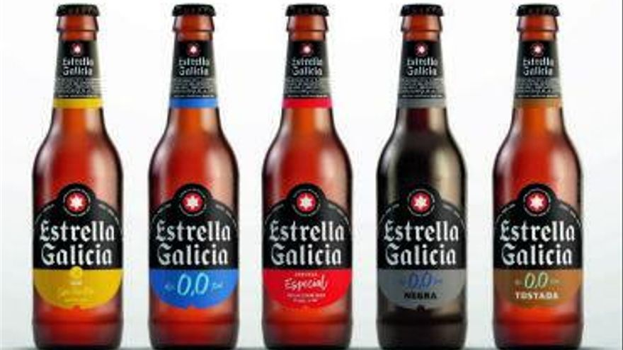 Hijos de Rivera renueva la imagen y el envase de Estrella Galicia