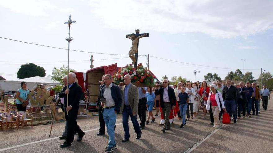 El Cristo de septiembre de San Vitero, sin romería