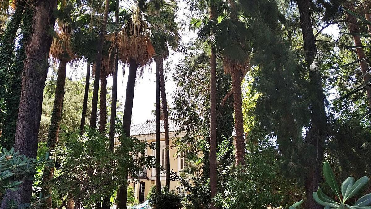 'La Brise' y parte de sus jardines, en agosto de 2020.