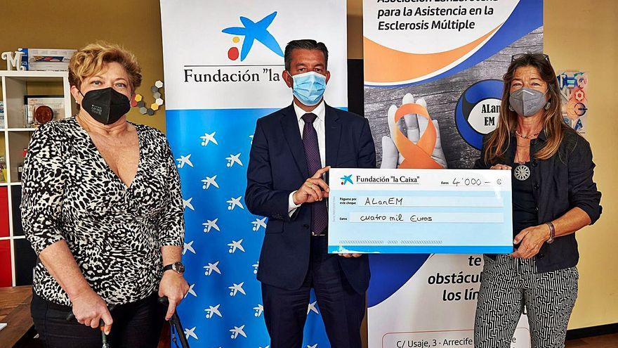 CaixaBank destina más de 36.500 euros a combatir la esclerosis múltiple