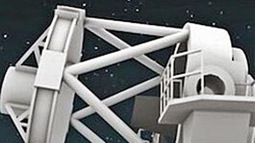 Financiación  para hacer en La Palma el mayor telescopio robótico mundial