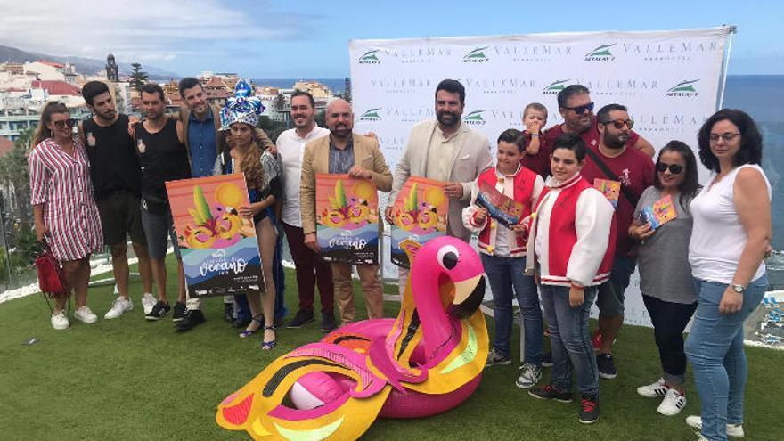 Puerto de la Cruz celebra el IV Carnaval de Verano, del 12 al 15 de septiembre